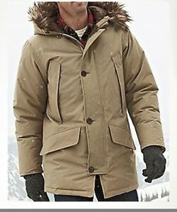Image Is Loading NWT Eddie Bauer Mens 1945 Icelander Model Down