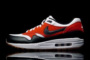 37126bae2c NIKE AIR MAX 1 Essential Mens Size 12.5 537383-122 White - Black ...