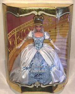 1999-Walt-Disney-s-Princess-Cinderella-Doll-50th-Anniversary-Barbie-Mattel-NEW