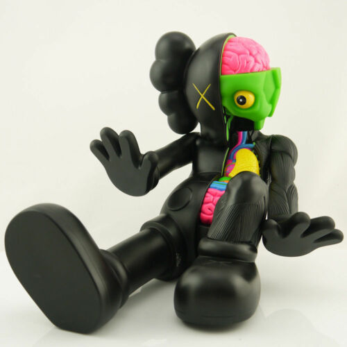 1Pcs 37cm Originalfake KAWS Dissected Companion Limited Edition Action Figure