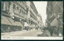 Roma Città Corso Umberto I NPG Foto cartolina QT2055