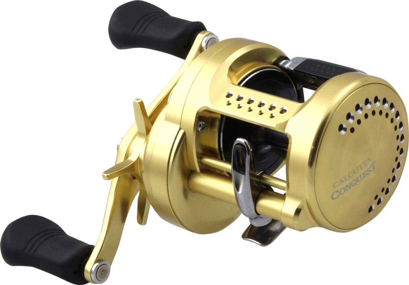 Shimano Calcutta Conquest 300400 Round Baitcasting Reels  Bass & Inshore Reel