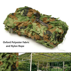 3M x 3M Camouflage Net Camo Hunting Shooting Hide Army Camping Woodland Netting