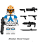 miniature 15 - STAR WARS Minifigures custom tipo Lego skywalker darth vader han solo obi yoda