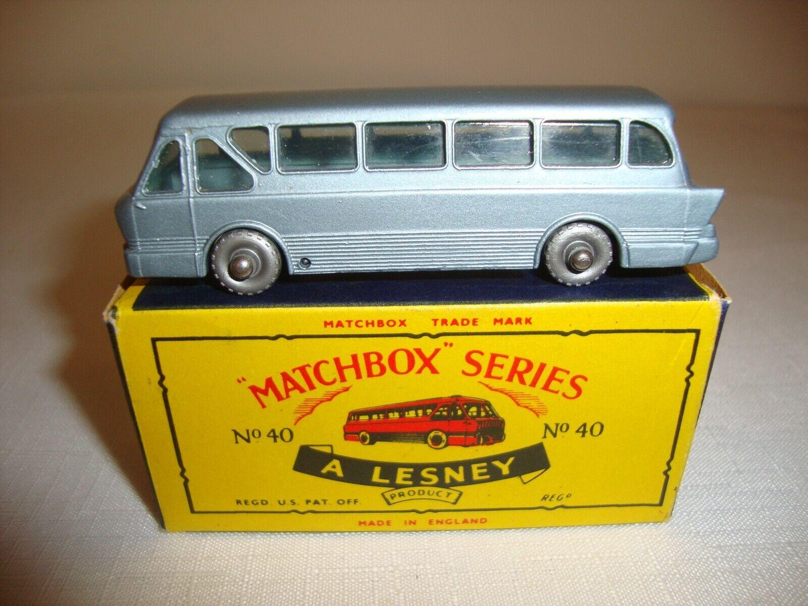 Sin impuestos Matchbox 1-75 40B Leyland Tiger entrenador de de de larga distancia-Excelente En Caja Orig. C  solo para ti