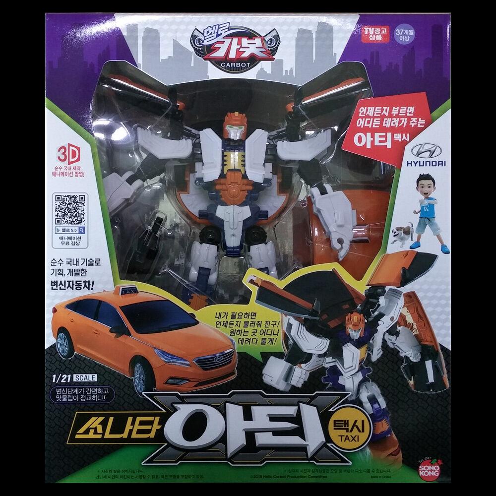 Hallå bilbot Sonata konsty Taxi transformers Transformerar Robot figuren Hyundai LF