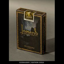 Leonardo (Gold Edition) by Legends Playing Card Company Poker Spielkarten