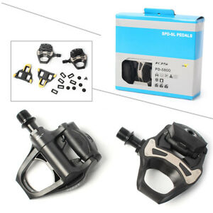 105-PD-5800-Carbon-SPD-SL-Road-Bike-Bicycle-Pedal-5800-Pedal-w-SM-SH11-Cleat-Set