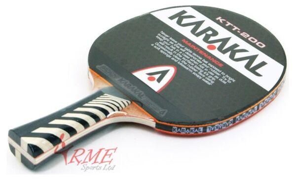 Aggressivo Karakal Ktt-200 Table Tennis Bat Rafforzare La Vita E I Sinews