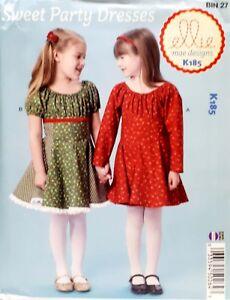 Ellie-Mae-Designs-K185-Sweet-Party-Dresses-Size-3-10-Long-Short-Sleeve-Pretty
