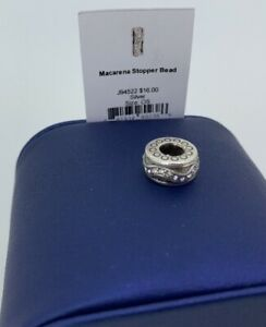 Brighton-Macarena-Stopper-Bead-Silver-J94522-NEW