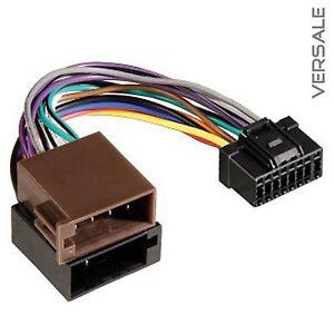 Adapter Kabel für Pioneer Auto Radio DIN ISO Stecker 16 Pin ...