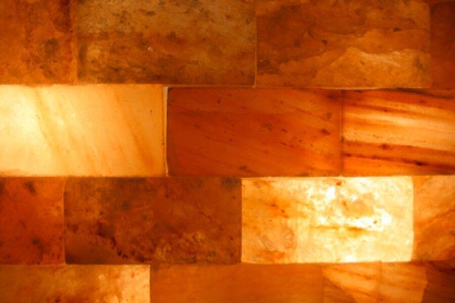 50 Stück Salzziegel Salzwand Saunabau Salzbaustein Salzstein Himalaya* Salz