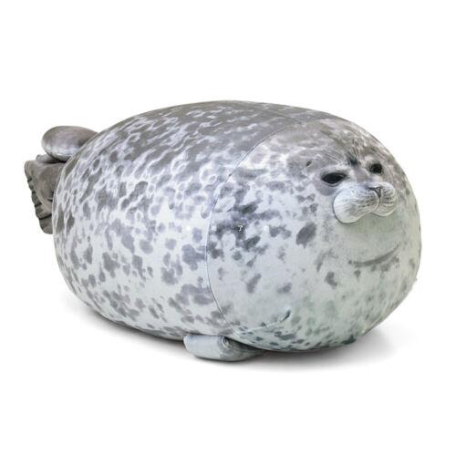 Chubby Blob Seal Plush Animal Toy Cute Ocean Pillow Pet Stuffed Doll Kids Gift G