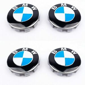 COMPATIBLE-BMW-X4-CACHE-MOYEU-JANTE-ENJOLIVEUR-LOGO-68MM-QUALITE-ORIGINAL
