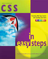CSS in Easy Steps, Mike McGrath
