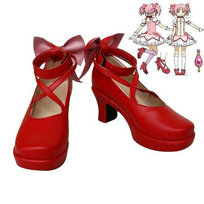 "Puella Magi Madoka Magica Madoka Kaname Cosplay Shoes ""Custom-made"""