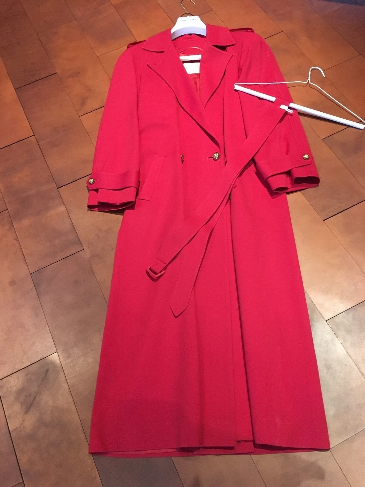Pendelton Red Women's Raincoat; Size 6