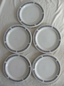 Oneida-Milenium-Athena-Mosaic-Waves-Set-of-5-Dinner-Plates-11-3-8-034