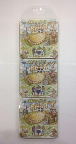 Cornish Pasty Design Coasters Coaster Cornwall Holiday Souvenir Kernow