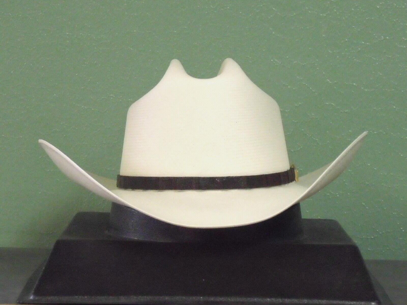 Buy Stetson Evilla De ORO 1000x Straw Cowboy Hat - Ssevor-3140 7 1 8 ... bf03836419f