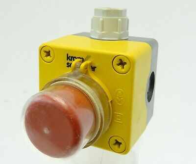 Klöckner Moeller Not-Aus-Taster Emergency Stop Button Notaustaster 1S+1Ö IP65