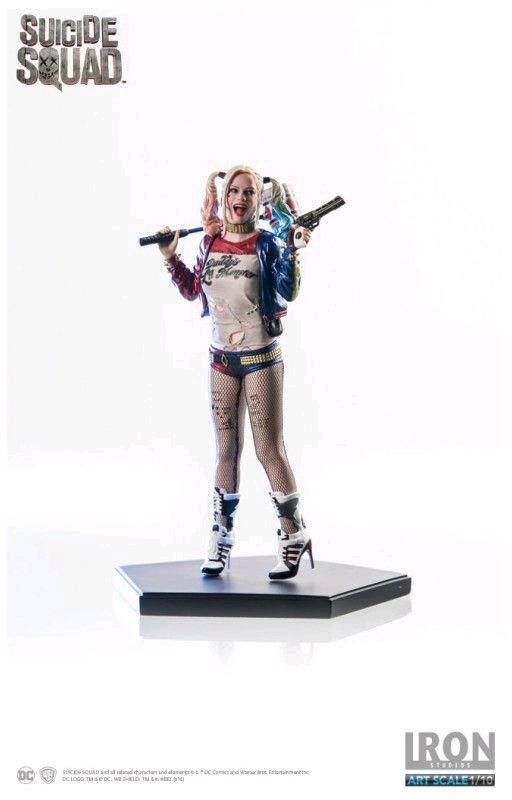 DC Iron Studios Suicide Squad Harley Quinn 1 10 Scale Statue