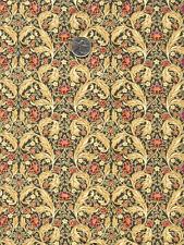 Rare BRITISH English Art Nouveau WILLIAM MORRIS Fabric Seasons ACANTHUS Floral