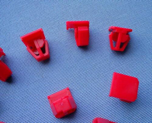 10x Zierleistenklammern Clips Zierleisten klips halter für Accord CRV rot 391