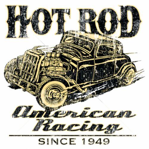 Hoodie Olive Green V8 Vintage Hot Rod /& Vintage Model American Racing