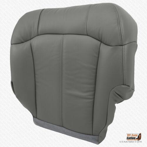 1999 2000 GMC Sierra Truck Driver Bottom Gray Vinyl Seat Cover PEWTER GRAY 922