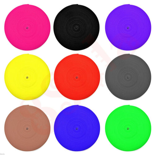 15mm Polypropylene Webbing Strap PP5 Tape ✶ Choice of 8 Colours ✶ High Quality