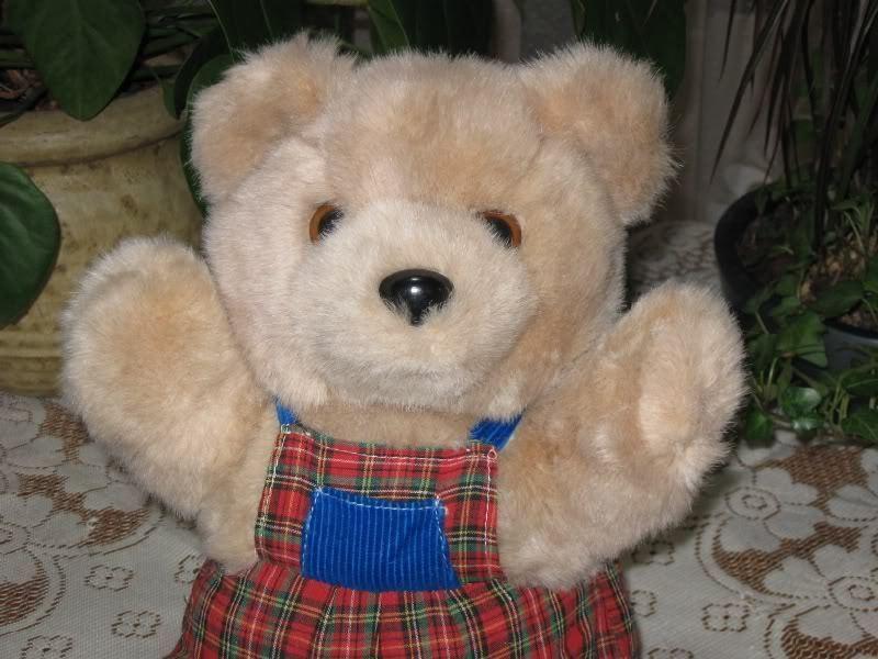 Kempenaar Holland Dutch Teddy Teddy Teddy Bear Plaid Clothing Beige 12 Inch 574239