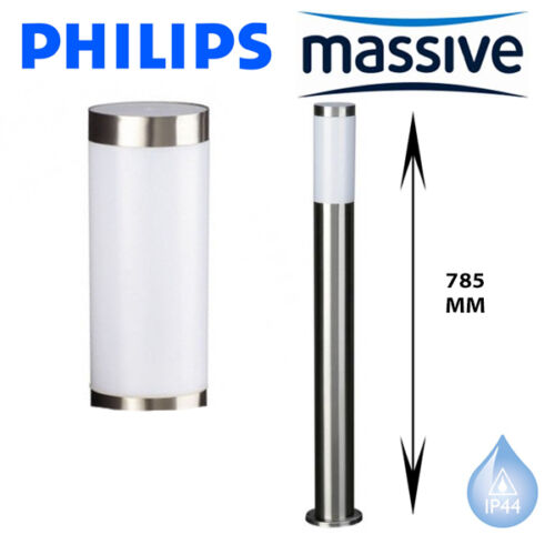 PHILIPS MASSIVE MY GARDEN UTRECHT WALL LIGHT BOLLARD POST OUTSIDE SECURITY NEW