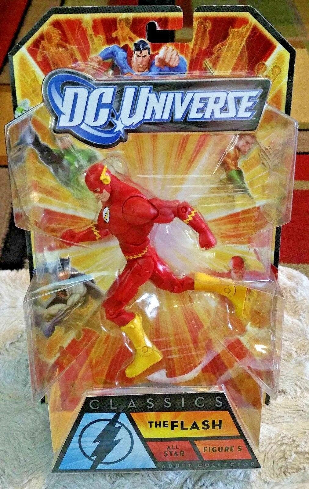 Dc - universum - klassiker der flash - all - star - welle abbildung 5