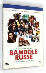 DVD-BAMBOLE-RUSSE-2005-Commedia-Romain-Duris-Kelly-Reilly
