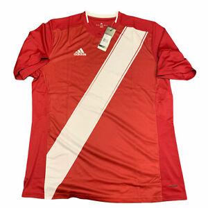 Indiana-University-IU-adidas-Soccer-Blank-S-S-Shirt-Hoosiers-Jersey-Sz-XL-NEW