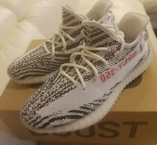0e855b9159cdd Adidas Yeezy Boost 350 V2 Zebra Kanye 100% Authentic White Red Size 9 CP9654