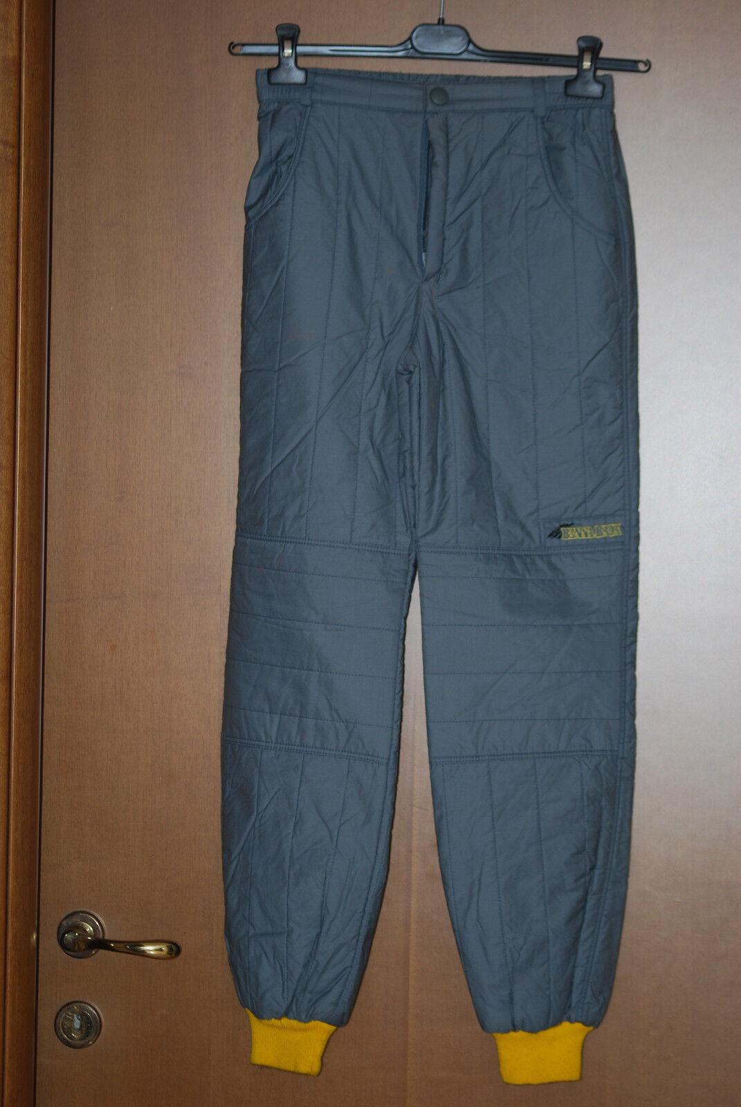 Pantalone Benna Brok suit NEW   vintage thermo sport snowboard snow paninaro 164