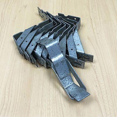 Timber Joist Hanger Galvanised 50mm X 65mm pack Of 10