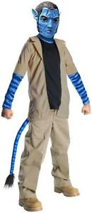 Jake Sully Avatar Movie Na'vi Navi Alien Fancy Dress Up Halloween Child Costume