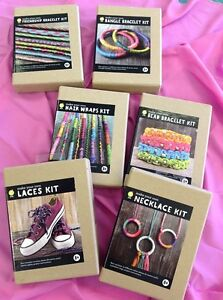 Image Is Loading Make Your Own Craft Kits Friendship Bead Bangle