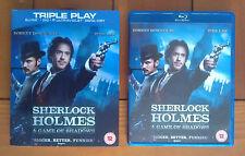 Sherlock Holmes 2 Game Of Shadows (Blu-Ray & DVD; Region Free, Robert Downey Jr)