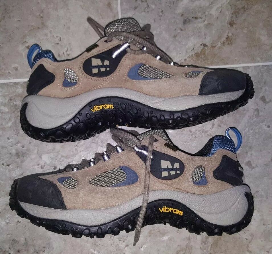 AMAZING CONDITION femmes MERRELL GORE TEX XCR VIBRAM SOLE HIKING chaussures Taille 11