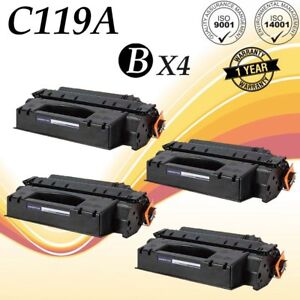 4-PK-C119-Toner-Cartridge-For-Canon-119-ImageClass-LBP251dw-MF414dw-MF5950dw