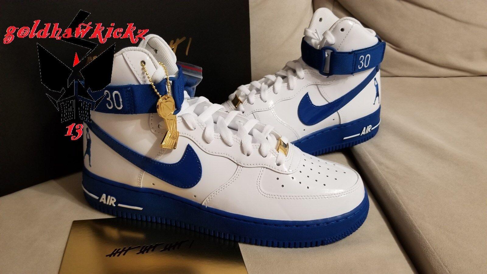 Nike air force 1 hohe ct16 qs qs qs sheed rasheed wallace böses erwachen aq4229-100 8313e7