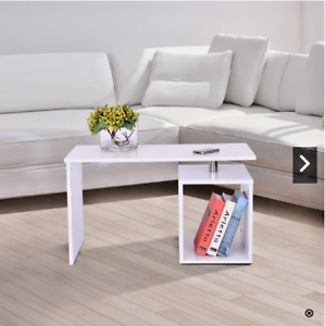 Coffee Table With Storage Cubes.Details About White Coffee Table Storage Cube Design Side Magazine Shelf Wood Modern Furniture