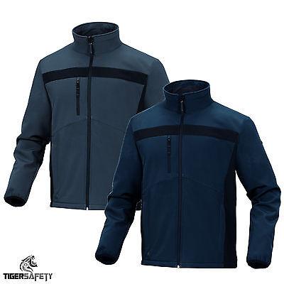 Delta Plus Panoply Hedmark Navy Blue Mens Waterproof Jacket Coat Work Coat Parka