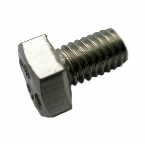 50 Edelstahl V2A Sechskantschrauben DIN 933 A2-70 M8x90