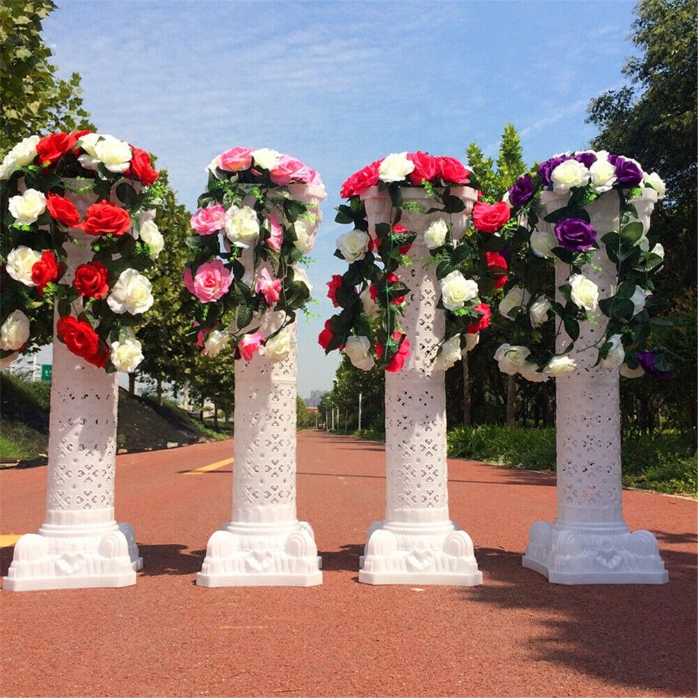 Blaumensäulen römischen Säulen Kunststoff Standsäule Blaumenständer für Hochzeit